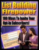 List Building Fire Power MRR +Bonuses!