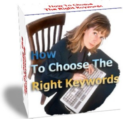 Product picture How to choose the right keywords - MRR