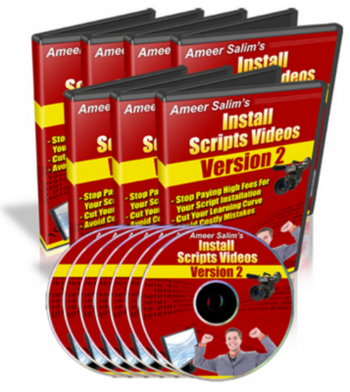 Product picture Ameer Salims Install Scripts Videos V2.0 with MRR+Bonuses!