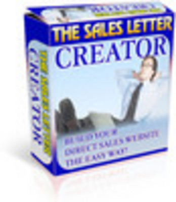 Product picture Sales Letter Creator with MRR + Bonuses!