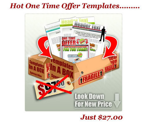 Product picture Hot One Time Offer (OTO) Templates (MRR)+Bonuses!