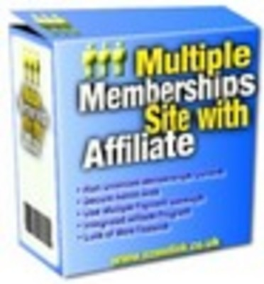 Product picture Multi Membership Website Script - MRR + Bonuses!