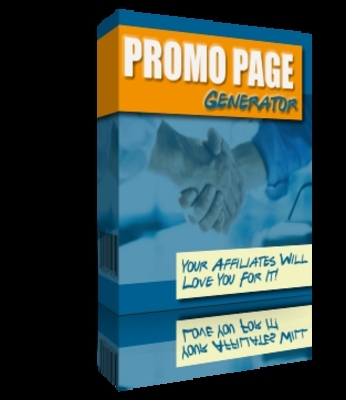 Product picture Promo Page Generator Software With MRR+Bonuses!